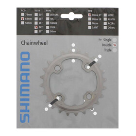 Shimano Deore XT FC-M785 chainring AM 64 mm 24 teeth silver